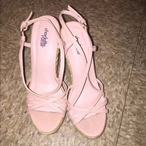 Baby Pink Wedges